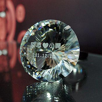 求婚水晶戒